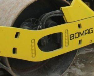 демпфер-амортизатор bomag для вальца