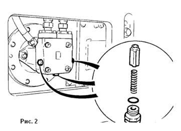 Гидромотор Bomag : привод вибрации- проверка