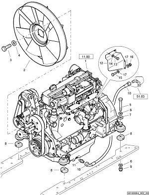 Двигатель Deutz: Ремонт, запчасти Bоmag BW 213